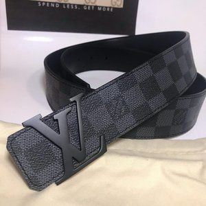 Other - Louis Vuitton Black Damier Graphite Pattern